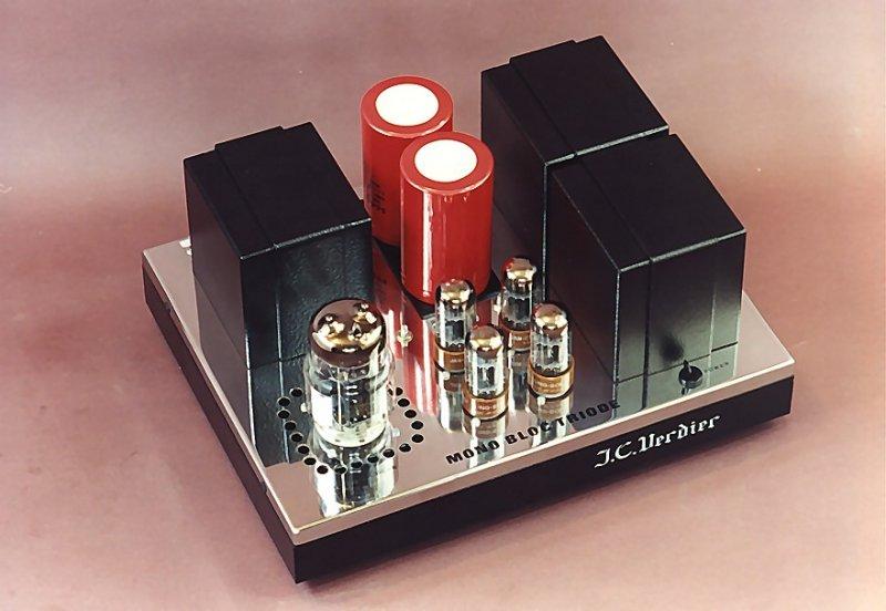 Amplificateur Mono Bloc triode JC Verdier