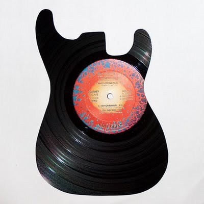 Guitare vinyle