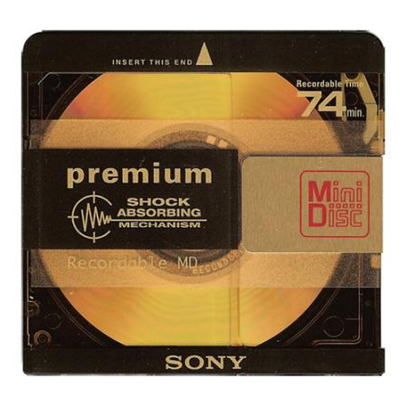 Minidisc 74 mn Sony