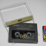 Cassette DAT audio